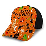 Jeffrey Toynbee Símbolos de Feliz Halloween Ajustables para Adultos para Gorra de béisbol Unisex
