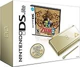 Nintendo DS Lite Gold with Legend of Zelda: Phantom Hourglass (NDS Bundle) (Renewed)