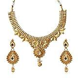 fasherati Antik Blumenmuster Halskette Set für Frauen