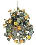 Nearly Natural 6025 22in. Nasturtium Silk Hanging Basket