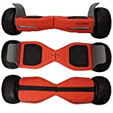 Siliskinz® Hoverboard Silicone Jelly Case Cover - pour Tout Terrain 8.5'Swegway 2 Wheel Smart...