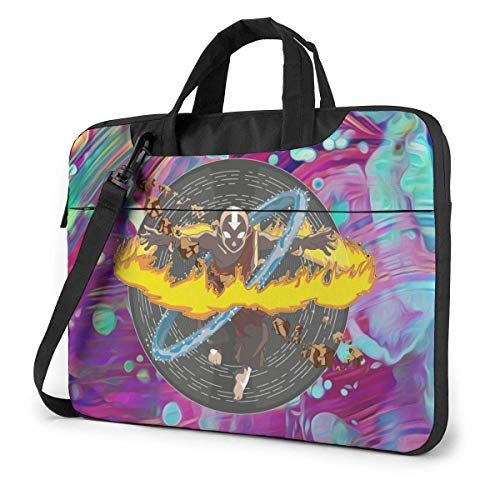 Anime Laptop Shoulder Menger Bag Tablet Computer Storage Bapa Bolso