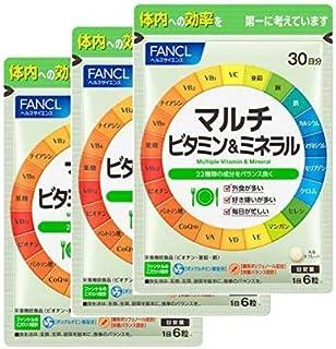 ファンケル (FANCL)マルチビタミン&ミネラル 約90日分 サプリメント