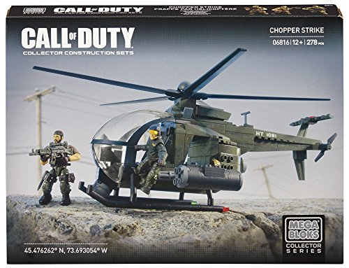 Call of Duty - Helicóptero Chopper Mega Brands 6816