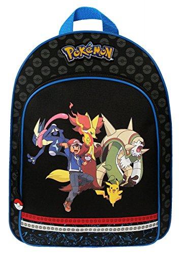 Pokémon Evolution - Mochila infantil, negro - Vadobag 160-6