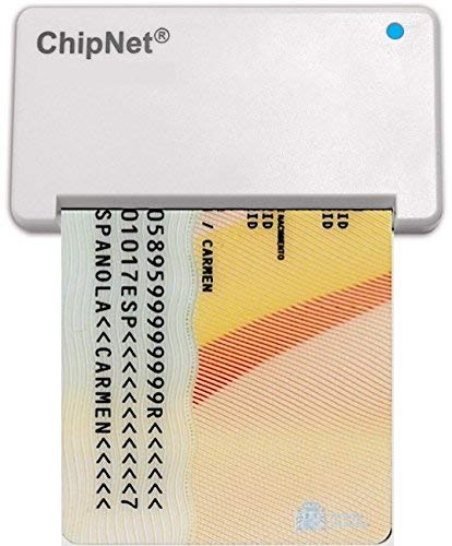 Lector de DNI electrónico 3.0 y 4.0 MAC INTEL y WINDOWS 10 y 11 * (MAC M1 ver iMICRO M1) * Del CAPITAN a BIG SUR y 12.0 MONTEREY * ChipNet iBOX Plus * Empresa Española Soporte Posventa.