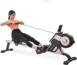 Rowing Machine Magnetic Rower Machine Home Rower with 8 Levels Resistance Adjustment Fitness Equipment for Home Gym, House...