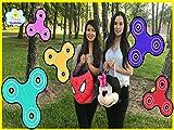 Clip: Fidget Spinner Surprise Challenge - Spinner Toy Tricks and Egg Hunt