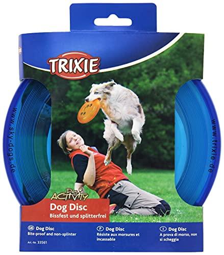 TRIXIE Disco Dog Activity, Resistente Mordiscos, ø19 cm, Perro ✅