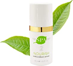 Natural & Organic Skin Care- The Spa Dr.: Step 2 Nourish - Antioxidant Serum - Anti Aging Skin Care - 30 Day Supply - Safe For All Skin Types - Perfectly pH Balanced