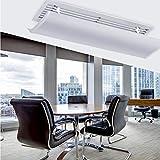 WWWJ Deflettori d'aria da soffitto regolabili e pieghevoli, deflettore d'aria universale da soffitto, per casa e ufficio moderno L52CM Colore