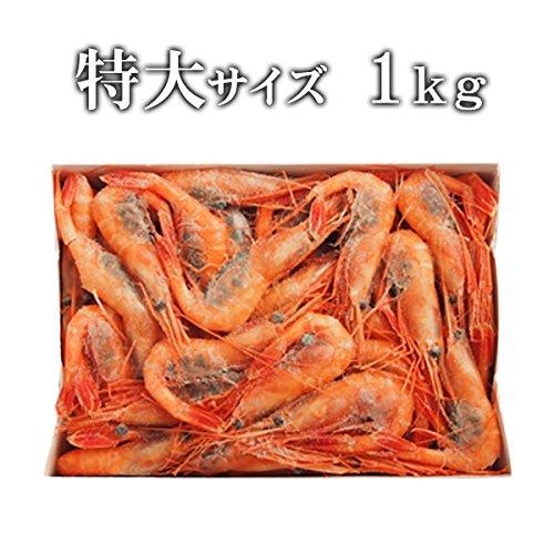 築地魚群 甘エビ(特大サイズ)1kg