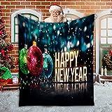 shenchia Manta de forro polar de Navidad para sofás, manta de microfibra súper suave, suave y acogedora para la siesta de los niños (102 x 152 cm, E)