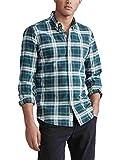 Camisa Ralph Lauren Oxford Custom Fit Cuadros Verde Hombre M Verde