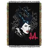 Disney's Maleficent, 'Dark Queen' Woven Tapestry Throw Blanket, 48' x 60', Multi Color