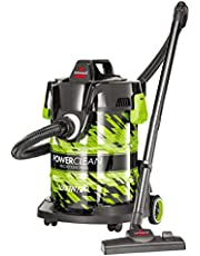 Bissell PowerClean Drum Vacuumwet & dry, 1500W 21L,Green - 2026E (Bissell 2026E)