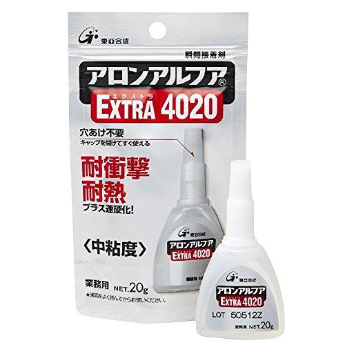 東亜合成 アロンアルフア 20g フック業務用 EXTRA4020