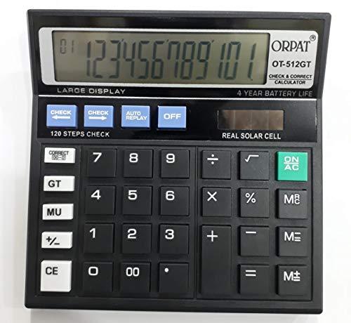 Orpat Calculator -Ot -512Gt Orpat, Pack of 2