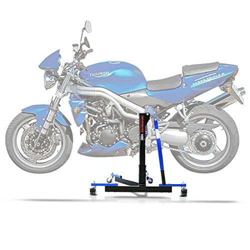 Bequille d'atelier Centrale ConStands Power Evo Triumph Speed Triple 97-01 Bleu