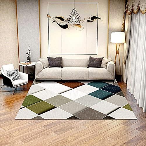 Kunsen Lång hall löpare mattor regler modern enkel abstrakt geometrisk smuts halkskydd vardagsrumsmatta sängmattor 30 cm 30 cm x 50 cm 30 cm halkfri mattunderlag 60 x 90 cm