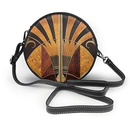 Lilyo-ltd Jugendstil Art Deco, Vintage, elegant, schick, Muster, Gold, Holz, Schwarz, Bronze,...