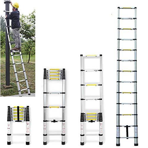 DICN 12.5FT Extendable Ladder Telescopic Folding...