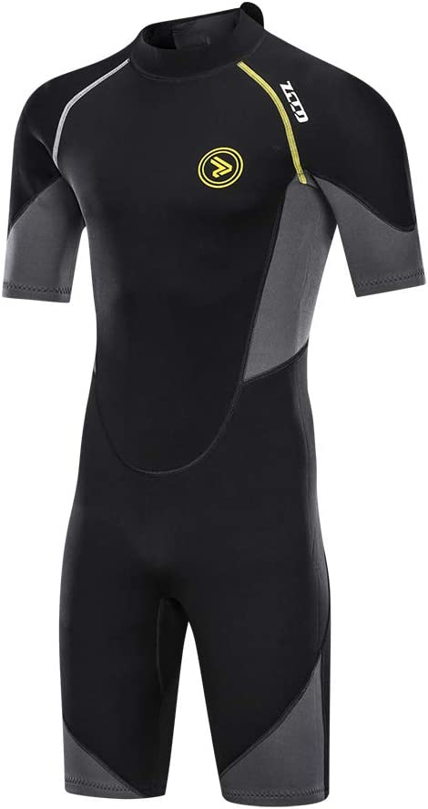ZCCO Men's Wetsuits 1.5 3mm New Shipping Free Shipping Premium Max 74% OFF Shorty Zip Neoprene Back Div