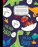 Funny Dinosaurs Tyrannosaurus, Triceratops, Diplodocus