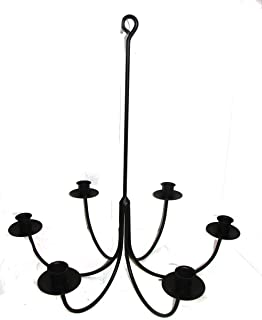 Best iron candle chandelier Reviews