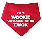 Spoilt Rotten Pets I'm A Wookie Disguised As An Ewok - Bandana Inspirada en S2 Star Wars para Perros
