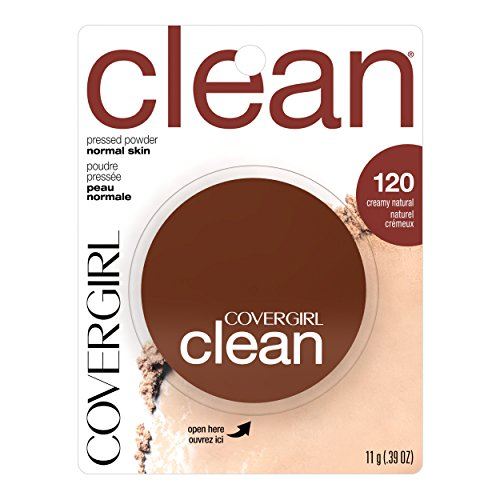 COVERGIRL Clean Pressed Powder, Cre…