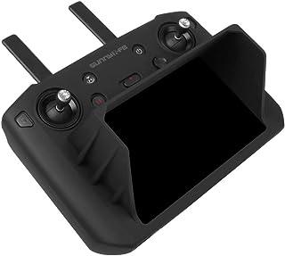Sunnylife Silicon Protective Cover Case with Sunhood Sun Shade for Mavic 2 Smart Controller (Black)