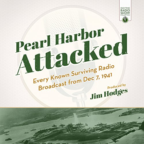 Pearl Harbor Attacked audiobook cover art
