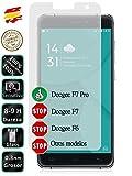 Movilrey Protector para Doogee F7 Pro 5.7 Cristal Templado de Pantalla Vidrio 9H para movil