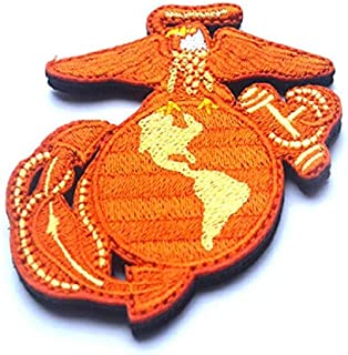 US Seal Marine Patch Eagle Globe and Anchor Patch Alloy Equipment Peace Walker Military Patch Fabric Embroidered Badges Patch Tactical Stickers for Clothes with Hook & Loop