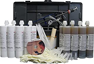 40' Urethane Contractor Kit-Seal Concrete Cracks That Leak Water with Polyurethane Injection