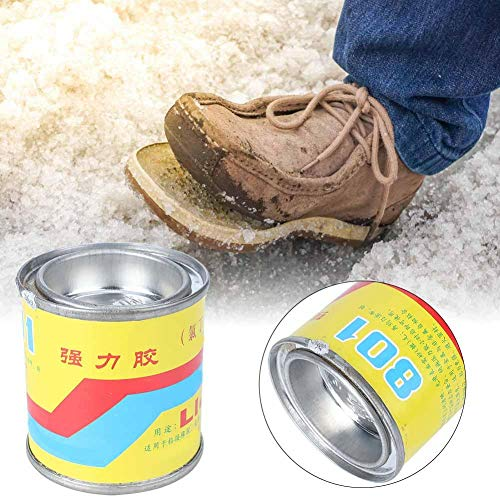 Pegamento para zapatos en lata de 100 ml, pegamento para zapatos súper adhesivo profesional Materiales para reparación de zapatos Accesorios para herramientas