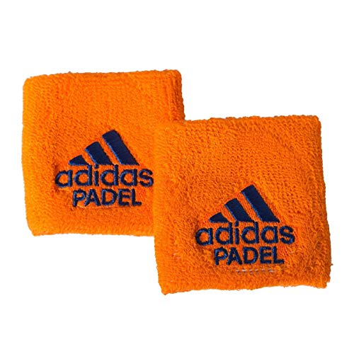 All for Padel Wristband S x2 Muñequeras, Adultos Unisex, Orange