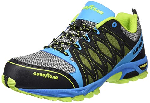 Goodyear GYSHU1503 - Zapatillas de seguridad para hombre, Multicolor, 46 EU (12 UK)