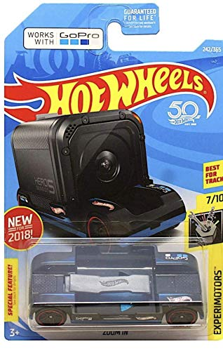 Hot Wheels 2018 50th Anniversary Experimotors Zoom In  242/365, Black