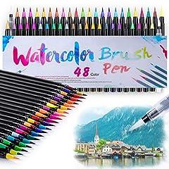 48 2 Pinselstifte Handlettering Stifte Set