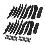 Keenso Acolchado de Espuma, 2 Juegos SK-202 Almohadillas universales para Casco de Bicicleta Forro de Bicicleta Forro Esponja multifunción Reemplazo