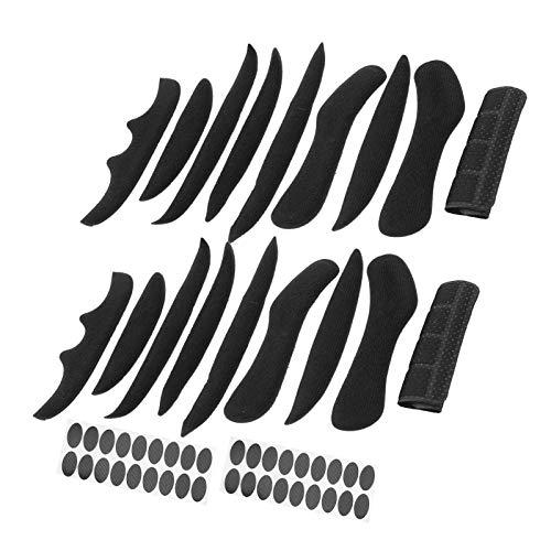 Keenso Acolchado de Espuma, 2 Juegos SK-202 Almohadillas universales para Casco de...