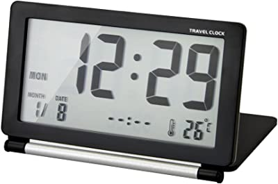 Amazon.de: 7 LED Farbe LCD Digital Uhr Wecker Thermometer