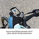 """Garmin Edge Explore - Ciclocomputador para cicloturismo con funciones de conectividad, 240 x 400 píxeles, pantalla táctil, 3,0"""", Blanco"""