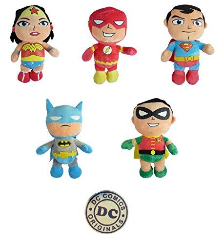 DC Comics 208580–Peluche, Super Héroes, tamaño 3