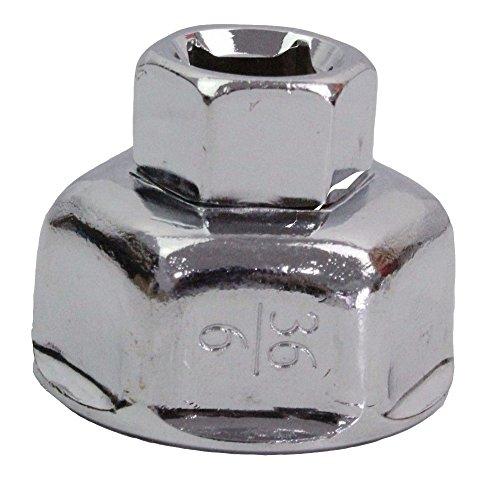 Eagles 36mm en acier inoxydable outil universel de suppression de bouchon de clé à filtre à huile