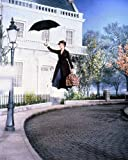 MagicBaobab #Julie #Andrews #Promotional #Flying #with #Umbrella #Mary #Poppins Poster Wall Art Home Decor