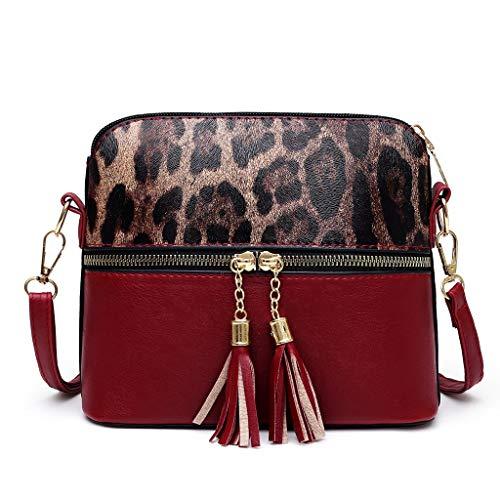 Women Shoulder Bags Hasp Closure Handtaschen Pure Color Cute Delicate Umhängetaschen Fashion Hangout Bags Weihnachtsgeschenke (Wein)