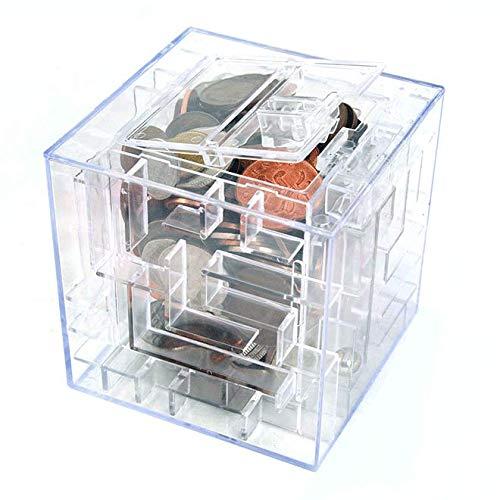 Monsterzeug Laberinto de dinero, hucha Money Maze, regalos de dinero divertidos, regalo de dinero, rompecabezas laberinto para eniguar